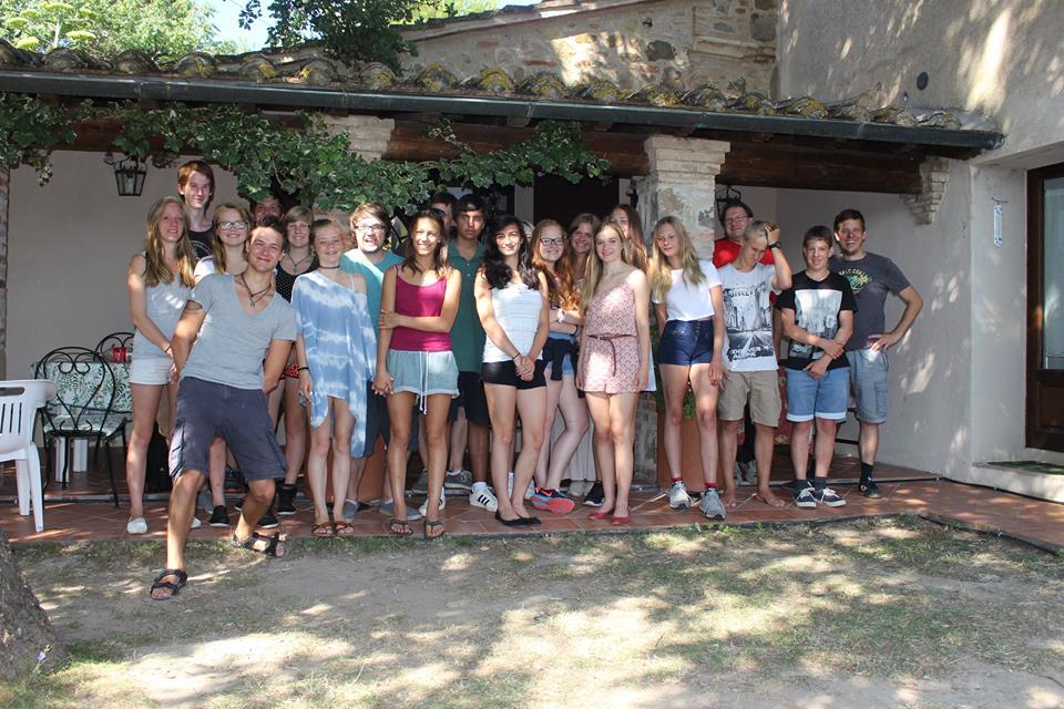 Gruppenbild Freizeithaus (2)